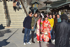 Maiko portrait (malinowy) Tags: winter japan 35mm temple nikon buddhist maiko geisha nippon nikkor zima narita naritasan honshu shingon japonia swiatynia malinowy d7000 shinshōji malinowynet