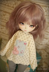 Art doll casual (ATsuri ~AT's LALAland~) Tags: art doll dolls handmade casual bjd dollfie msd leeke