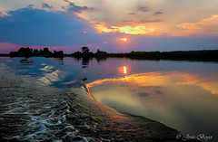 Douce lumière (josboyer) Tags: river rivière botswana chobe namibie