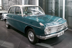 1965 DKW F102 (faasdant) Tags: car museum sedan germany automobile forum audi dkw 1965 ingolstadt f102