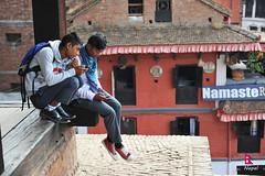 Taumadi Tole (YellowSingle ) Tags: nepal temple student nikon valley kathmandu