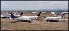 3D-GFA C-GAGC D-ABZD N129TW VR-CAN - Marana Pinal Air Park (MZJ) 19.04.2003 (Jakob_DK) Tags: 2003 boeing 707 lufthansa boeing747 747 twa b747 boeing707 b707 aircanada marana pinal transworld 747200 pinalairpark 747100 transworldairlines mzj kmzj cgagc 707100 dabzd airgulffalcon vrcan 3dgfa n129tw