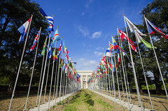 Flags of the World (Rich3012) Tags: switzerland european geneva united headquarters flags un national nations