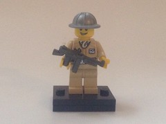 British ww2 soldier (carterd1001) Tags: lego ww2 british ba solider brickarms