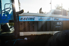 Go faster (Dan Chippendale) Tags: tractor kent fuji fujifilm lamborghini whitstable xf 2015 27mm xt1 january2012 fujifilmxf27mm fujifilmxt1 fujixt1