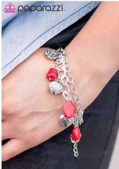 Sunset Sightings Red Bracelet K1 P9710A-1