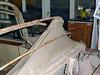12 Alvis Demontage Foto von Autosattlerei Markus Hof Schweiz 07