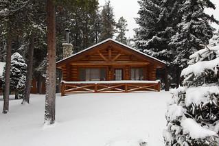 Santa's cabin.