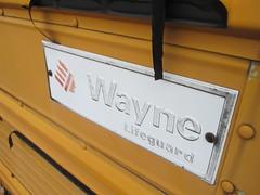 IMG_1067 (ThoseGuys119) Tags: old newjersey junk wayne shed lifeguard storage international schoolbus retired 1980s scrap rare s1700 waynewheeledvehicles nochassis