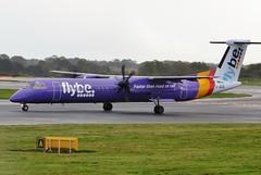 G-JECE Manchester 6 October 2014 (ACW367) Tags: manchester dash8 flybe dehavillandcanada gjece dhc8q402