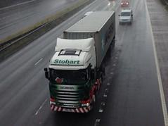 H2011 - PO64 VMA (Cammies Transport Photography) Tags: truck lorry louise eddie m6 flyover scania leyland esl cally vra stobart eddiestobart r450 h2011 po64 po64vra