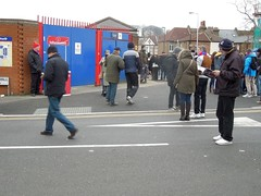 Boxing Day at Selhurst Park, London (Paul-M-Wright) Tags: december day crystal 26 palace v match boxing friday southampton premier league 2014