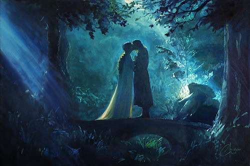 Lord of the Rings LOTR - Aragorn and Arwen