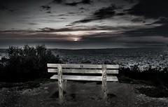 Silent Views (tSos Greq) Tags: bench view banco athens atenas vista saronic     tagrex