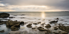 141018-ILCE-6000-24 mm-ISO 125-LATRINITESURMER-DSC09589.jpg (TOONS56) Tags: longexposure sea seascape sunrise bretagne morbihan latrinitesurmer poselongue couchedesoleil
