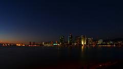 Honolulu Skyline Night