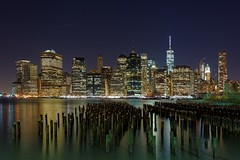 US-NY Brooklyn - Downtown at Night 2014-12-26 (N-Blueion) Tags: nyc