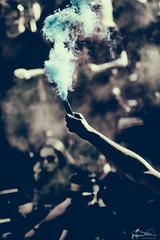 Die unertrgliche Anziehungskraft des Rauches (fender66ge) Tags: outdoor pyro hafengeburtstag rauch