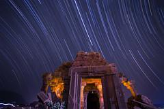 TImeworn . . . (soumitra911) Tags: sky india night stars temple ancient ruins stones maharashtra shiva pune startrail timeworn wagheshwar