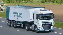 PX65 ZNP (panmanstan) Tags: truck wagon motorway yorkshire transport lorry commercial vehicle freight bulk m62 daf xf haulage whitley