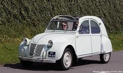 Citron 2CV AZL 1960 (XBXG) Tags: auto old france holland classic netherlands car mobile vintage french automobile nederland citron voiture 2cv frankrijk paysbas eend geit ancienne azl 1960 2016 vijfhuizen 2pk citron2cv franaise deuche deudeuche citromobile citro dt9484