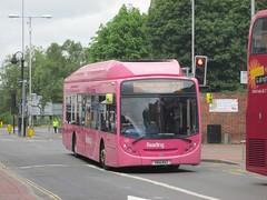 Reading Buses 430 YN14MXZ Friar St, Reading on 22 (1280x960) (dearingbuspix) Tags: pink 430 readingbuses yn14mxz