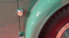 A12830 / car show details: 1931 minerva al convertible sedan by rollston (janeland) Tags: sanfrancisco california november abstract detail green car 1931 reflections automobile arc fender minerva mosconecenter 94103 2015 sanfranciscointernationalautoshow pe0