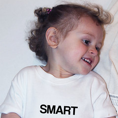 smart babygrow (rethinkthingsltd) Tags: baby white smart children design kid diverse adult unique free tshirt parry pride southern lgbt statement strong local northern fit typographic able ilsa rethinkthings