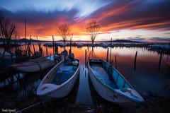 Lago Trasimeno -Umbria- (Danilo Agnaioli) Tags: tramonto paesaggi lagotrasimeno canon6d filtrond1000