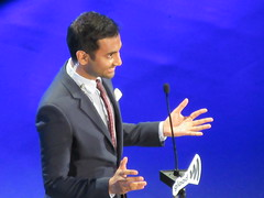 Aziz Ansari at the GLAAD Media Awards at the Waldorf Astoria Hotel in New York City (RYANISLAND) Tags: nyc newyorkcity gay usa ny newyork celebrity television fashion lesbian gaymen tv media famous style glbt pride transgender lgbt glam newyorkstate bisexual awards trans press queer bi gma gender nys equality redcarpet glamorous pressphoto gays pressphotos waldorfastoria glbtq glaad 2016 gaylesbian defamation waldorfastoriahotel gaywomen transidentity gayandlesbian lgbtq redcarpetevent genderidentity glaadmediaawards transman transwoman glaadawards genderfluid gayandlesbianallianceagainstdefamation gaylesbianallianceagainstdefamation glaadny glaadmedia glaadaward glaadnyc ‪‎glaadawards‬