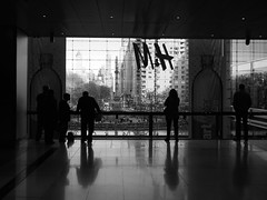 Silhouettes (reehren) Tags: nyc timewarnercenter