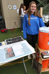 PZ20160513-011.jpg (Menlo Photo Bank) Tags: ca people usa water girl sign us spring student technology engineering quad science event haley individual atherton solarpower 2016 engaging upperschool makerfaire menloschool photobypetezivkov appliedscienceresearch