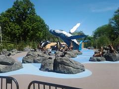 Big sculpture garden (photoncapturer) Tags: sculpturegarden alaskanadventure omahazoo playarea activityarea