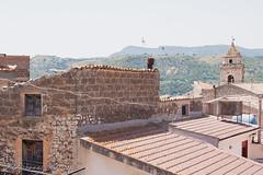 Piccolo scorcio dalla balconata (giovyskia) Tags: light italy sun mountain landscape view campanile sicily oldhouses scorcio centrostorico paesello chiusasclafani