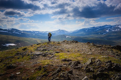Walk with me! (PixPep) Tags: people nature norway clouds landscape dovre pixpep