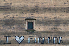 Old Building New Love (James_D_Images) Tags: wood building love window graffiti message heart theatre porttownsend weathered siding miranda washingtonstate 1897 ioof i