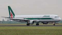 Alitalia Airbus A321 I-BIXN (robdsn) Tags: airbus schipol ams alitalia a321 polderbaan