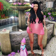 ~Ashly~ ( aka Nessie Ryan) Tags: fashion tattoo hair necklace blog shoes truth dress mesh body energie nails blogging uber luxe fri maitreya sweetevil meshhead izzies meshbody redknees letistattoo vision}sf