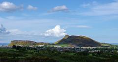 Arthur's Seat, Edinburgh (AlexDenvorB) Tags: city mountain green point landscape edinburgh view hill