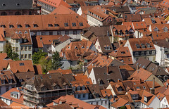 The Roofs of the Old Town. (andreasheinrich) Tags: germany deutschland spring warm sunny roofs april heidelberg altstadt sonnig oldtown frhling badenwrttemberg dcher nikond7000