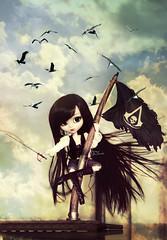 Little pirate ~ (Dekki) Tags: fashion asian doll aires planning groove pullip limited edition jun helter skelter obitsu junplanning rewigged ririko