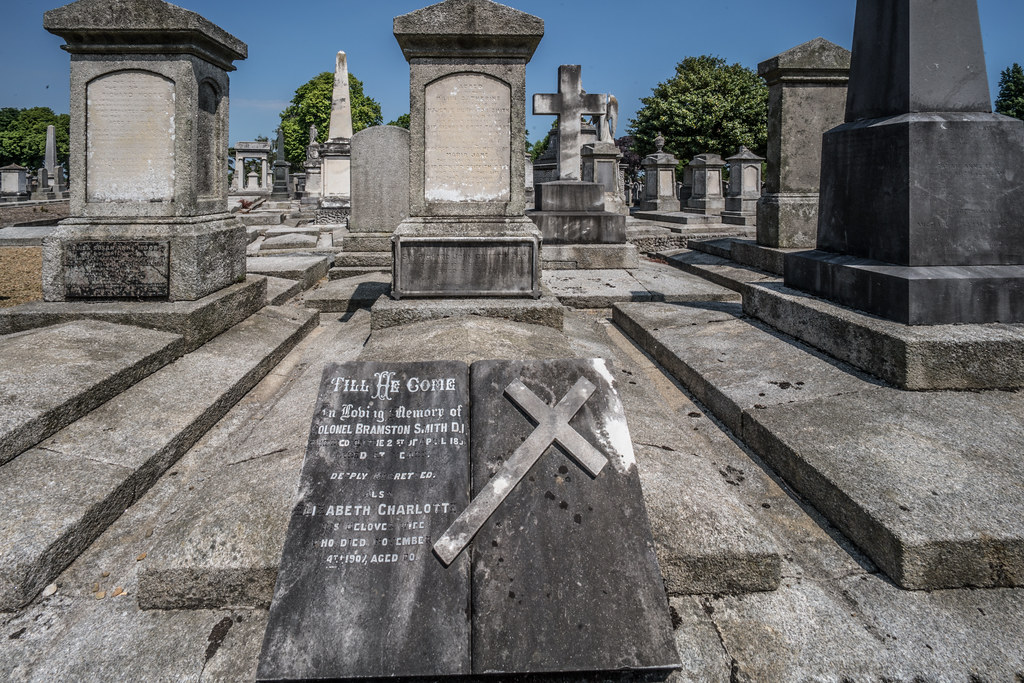 MOUNT JEROME CEMETERY AND CREMATORIUM IN HAROLD'S CROSS [SONY A7RM2 WITH VOIGTLANDER 15mm LENS]-117137