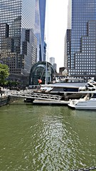 Looking into New York from the Hudson River! #NYC #thebigapple #newyork (joshwilliams4) Tags: nyc newyork thebigapple