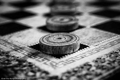 Draughts (Rich Presswood) Tags: blackandwhite bw monochrome mono lowlight availablelight olympus boardgame zuiko draughts adobelightroom silverefexpro2 omdem1 1240mmf28