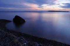 Sunset Rock (noahtaylor3) Tags: ocean sunset beach nature newfoundland nikon rocks d5000