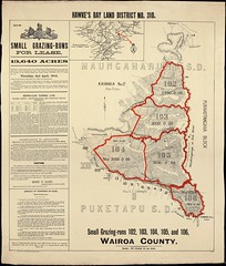 Hawke's Bay Land District No 310, 1914 (Archives New Zealand) Tags: maps archives land crown 1914 hawkesbay landsale