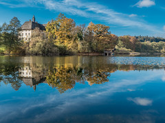 Weidsee (elzauer) Tags: lake reflection nature water forest woodland germany de landscape outdoors bayern bavaria photography europe day upperbavaria petting scenics colorimage berchtesgadenerland nonurbanscene europeanalps berchtesgadenalps