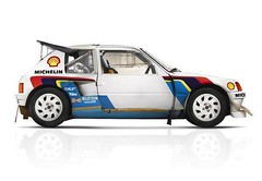 Rally 62 (Race Mania International) Tags: rally peugeot 205 rallycar t16 groupb peugeot205t16
