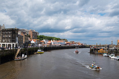 Whitby Harbour (davep90) Tags: ocean holiday boats coast seaside fuji vampire yorkshire goth dracula whitby 1024 resourt xe2 davep90