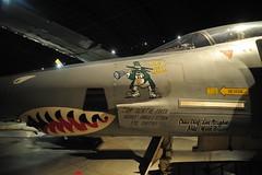 McDonnell Douglas RF-4C Phantom II at the National Museum of the United States Air Force. (lee.ekstrom) Tags: world ohio two storm art museum nose 1 war force desert aircraft air first korea vietnam viet national ii planes patterson wright phantom douglas usaf base sheild dayton nam mcdonnell scud rf4c sorties i j79ge15